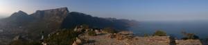 Panoramic Table Mountain and 12 Apostles