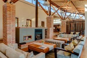 Grootbos Forest Lodge lounge Hermanus