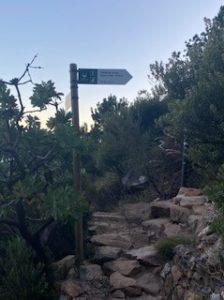 Hiking Platteklip up Table Mountain