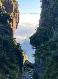 Table mountain via Platteklip